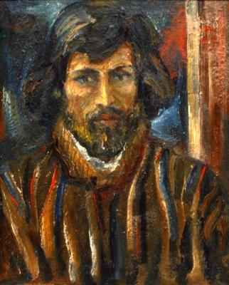 Vladimir Ilyich Portyanoy. Self-portrait