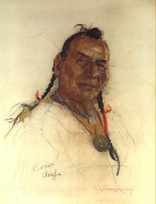Николас де Гранмезон. Индейский портрет 62