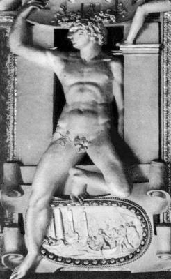 Россо Фьорентино. Статуя