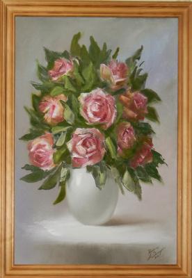 Александра Демидова. Розовые розы