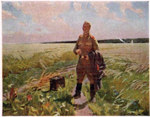 Игорь Иванович Симонов. Снова на родине
