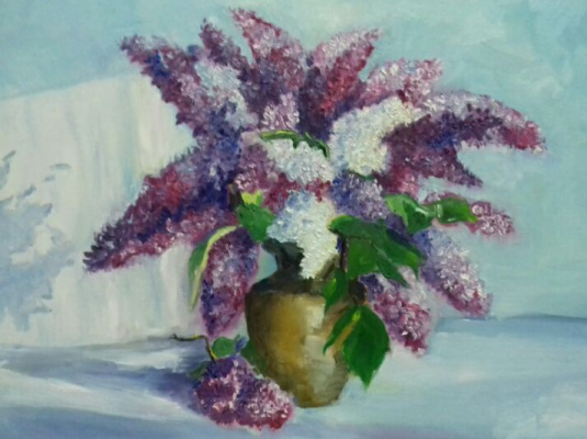 Juliana Strely. Lilac, caressed by the sun