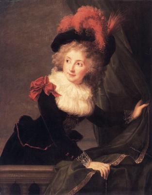 Элизабет Виже-Лебрен. Мадам Перрего