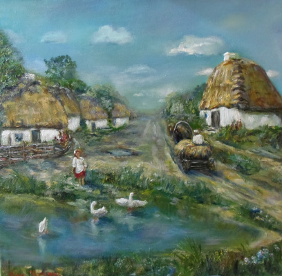 Nata Charivna. Spasskoe village