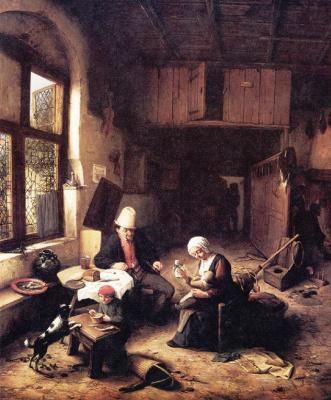 Адриан ван Остаде. Коттедж