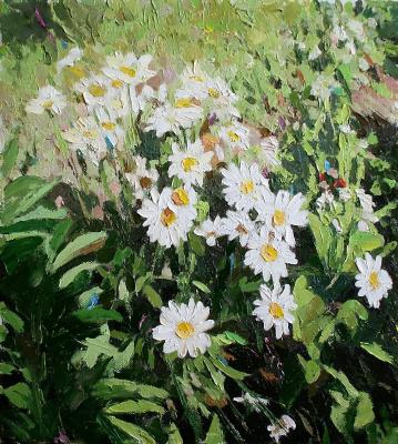 Михаил Рудник. Flowers No. 21. Chamomile