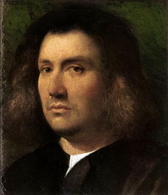 Giorgione. Portrait of a Man