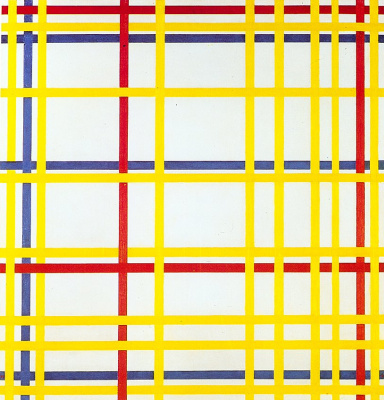 Piet Mondrian. New York 1