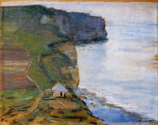Claude Monet. Arch, cliff of d Aval