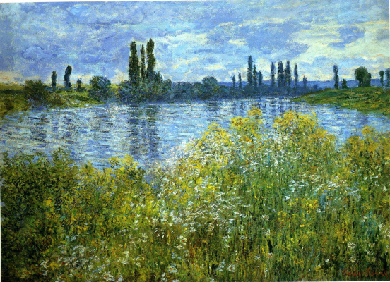 Клод Моне. На берегу Сены близ Ветёя