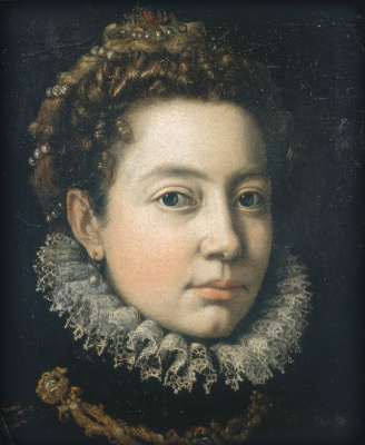 Sofonisba Anguissola. Portrait of a woman (Elizabeth French)