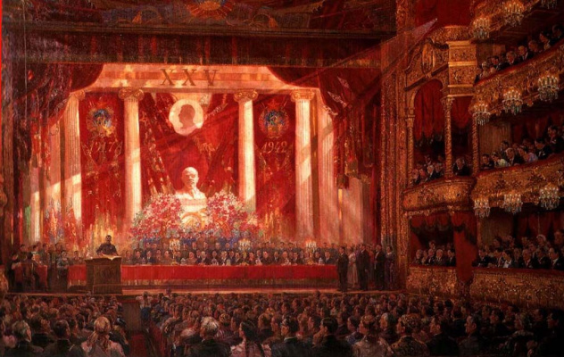 Alexander Mikhailovich Gerasimov. Anthem October