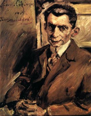 Lovis Corinto. Portrait Of Julius Meier-Graefe