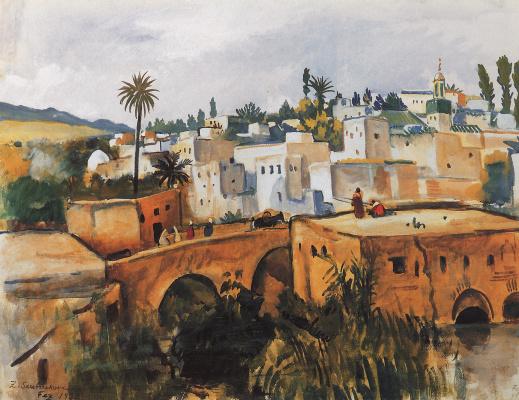Zinaida Serebryakova. Fes. Morocco