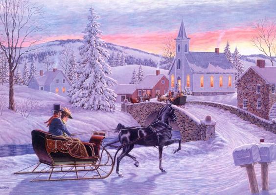 Ричард де Вулф. Старомодное Рождество