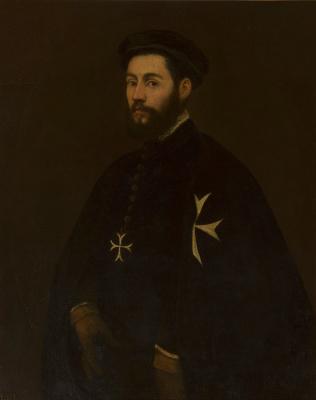Якопо (Робусти) Тинторетто. Портрет мальтийского рыцаря