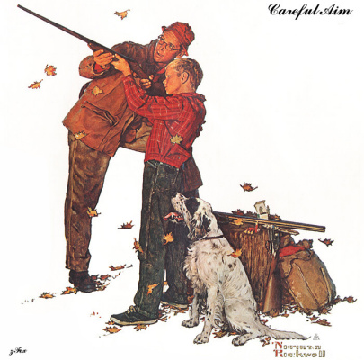 Norman Rockwell. The correct target