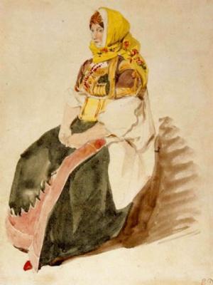 Эжен Делакруа. Марокканская еврейка