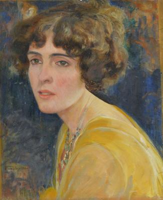 Ferdinand Hodler. Female portrait