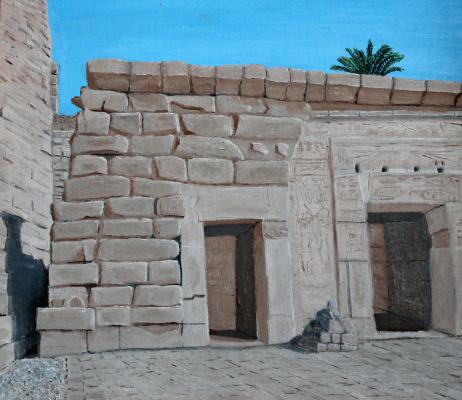 Paul. Ruins of Karnak