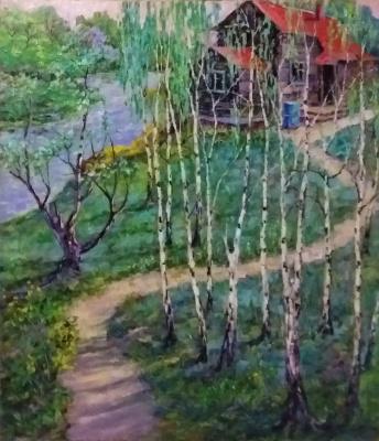 Valentin Nikolaevich Sudnitsyn. House on the hill