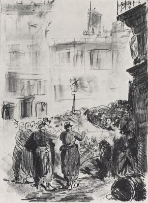 Edouard Manet. Barricade