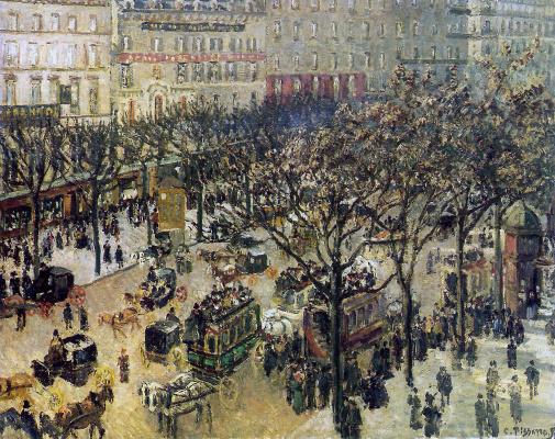 Camille Pissarro. Italian Boulevard
