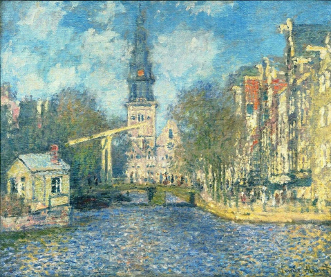 Claude Monet. Southern Church in Amsterdam