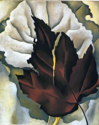 Georgia O'Keeffe. The leaf patterns