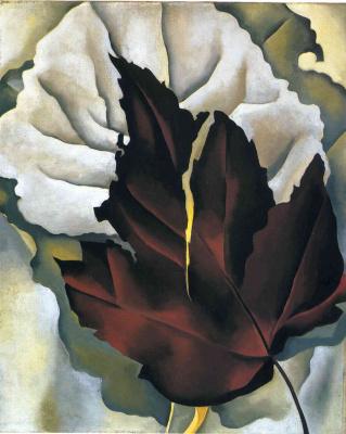 Georgia O'Keeffe. The leaf patterns