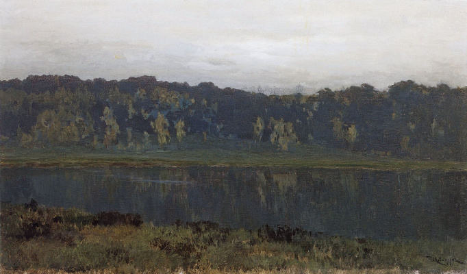 Isaac Levitan. Autumn morning. Fog
