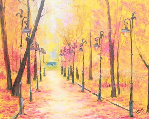 Vera Alexandrovna Kholmogorova. Autumn Alley