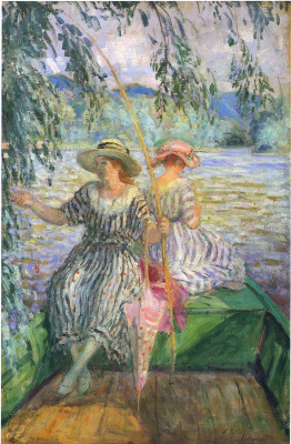 Henri Lebasque. Fishing