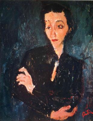 Chaim Soutine. Portrait Of Maria Lani