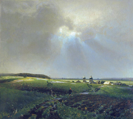 Apollinarius Mikhailovich Vasnetsov. After the rain