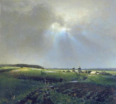 Аполлинарий Михайлович Васнецов. После дождя