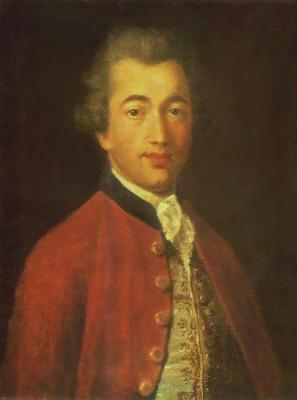 Иван Петрович Аргунов. Портрет М. Л. Лазарева. 1799