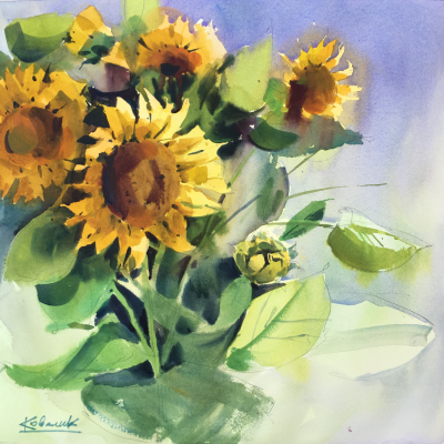 Andrew. Sunflowers