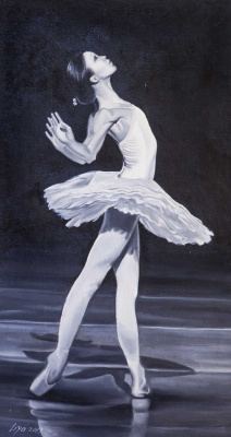 (no name). Ballerina. White Swan Dance