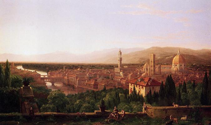 Thomas Cole. Florence