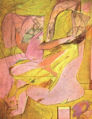 Willem de Kuning. Pink angel