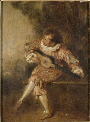 Antoine Watteau. Serenade
