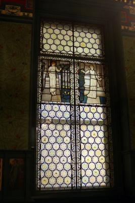 Уильям Моррис. Витражное окно комнаты Морриса, Лондон