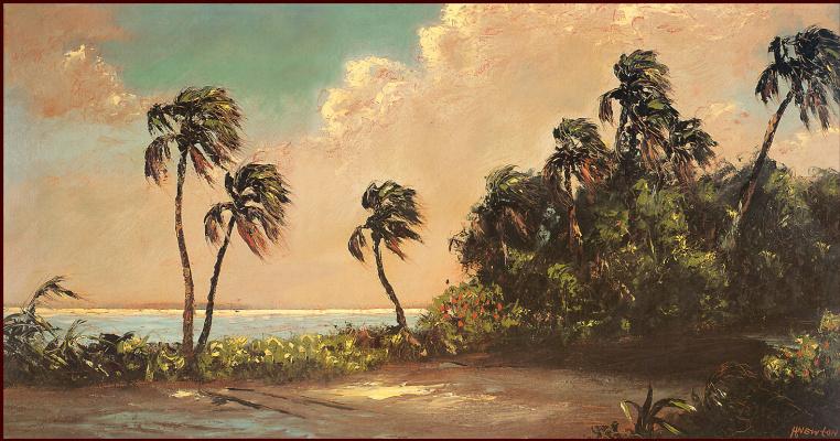 Гарольд Ньютон. Тропический пейзаж 45