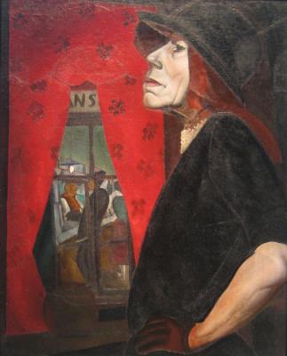 Борис Дмитриевич Григорьев. Марсельская шлюха