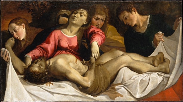 Лодовико Карраччи. Оплакивание Христа