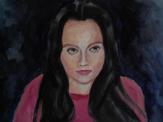 Rene Rene Maksimenko. Self-portrait