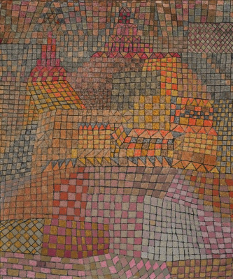 Paul Klee. The city's castle