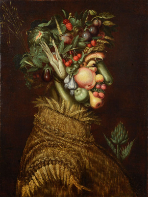 Giuseppe Arcimboldo. Summer. Repeat series