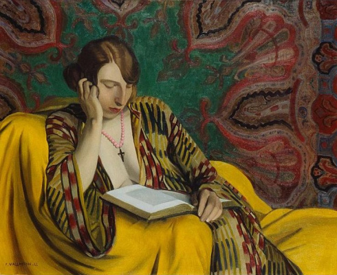 Felix Vallotton. Reading